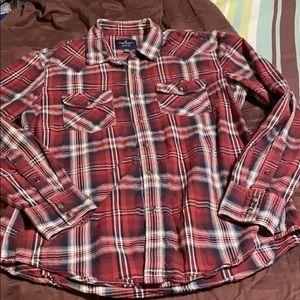 Men's American Eagle Western Style Dress Shirt.
